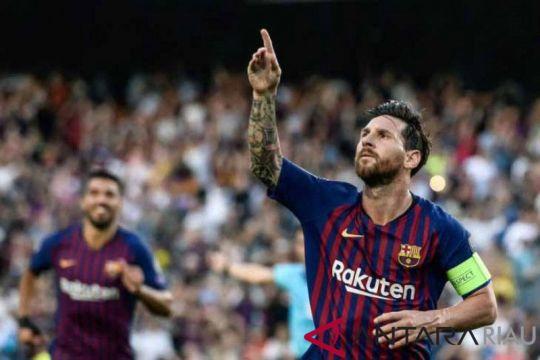Lionel Messi dan Suarez tidak perkuat Barcelona saat hadapi Levante