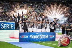 Juventus juarai Liga Italia tujuh kali beruntun