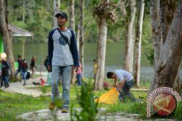 Obyek Wisata Danau Tambing Kembali Dipadati Pengunjung