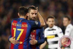 Barcelona gilas Sevilla 2-1, Alcacer dua gol