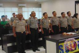 Cegah KKN, Panitia Penerimaan Polri Polda Sulteng Disumpah