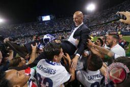 Real rayakan gelar Liga Champions dengan berpesta di Madrid