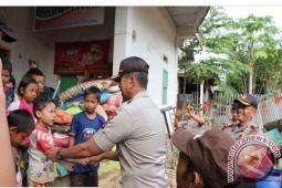 Bila Kapolda Sulteng berbagi rasa dengan korban banjir Tolitoli