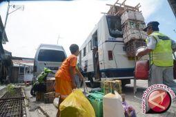 Arus Mudik - terminal di Palu masih sepi
