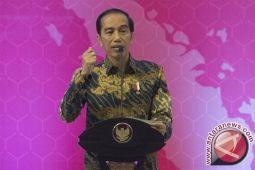 Presiden Jokowi: pembangunan infrastruktur satukan Indonesia