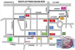 Jalan Kota Palu Ditutup Untuk Tes TdCC
