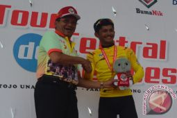 Jamal Hibatullah borong juara Etape I TdCC