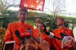 Presiden Jokowi: acara pernikahan Kahiyang-Bobby sederhana