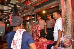 Wakapolda sidak pasar, harga daging melewati HET