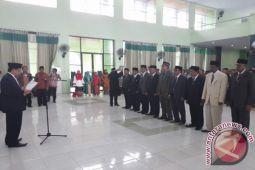Sembilan Pejabat Baru Dilantik Di IAIN Palu