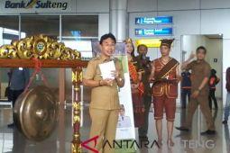 Bupati Sigi luncurkan gerai kopi toratima di Bandara Mutiara