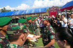 Opster TNI bikin Poso makin aman dan sejahtera