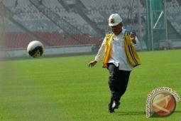 Rumput GBK dipindah demi pembukaan Asian Games