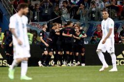 Piala Dunia 2018 - Kroasia hancurkan Argentina untuk capai putaran kedua