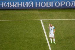 Peran Messi dipertanyakan setelah kekalahan dari Kroasia