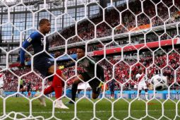 Piala Dunia 2018 - Prancis lolos 16 besar setelah kalahkan Peru