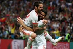 Spanyol taklukkan Iran 1-0 perbesar peluang lolos