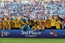Martinez: posisi ketiga piala dunia jadi warisan sepak bola Belgia