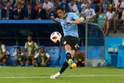 Piala Dunia 2018 - Cavani cetak kemenangan 2-1 Uruguay atas Portugal
