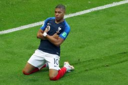 Piala Dunia 2018 - Dua gol Mbappe bantu Prancis kalahkan Argentina
