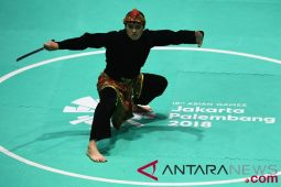 Asian Games - pesilat Sugianto raih emas