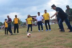 Poso gelar kompetisi sepak bola Liga Desa Nusantara