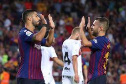 Barca hancurkan Huesca 8-2