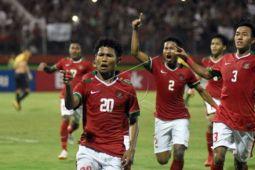 U-16 India kapok bertanding melawan Indonesia