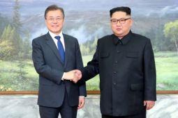 Pemimpin Korsel-Korut bertemu untuk ketiga kalinya