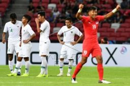 Indonesia ditaklukkan Singapura 0-1 Piala AFF 2018