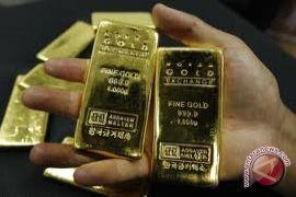 Emas naik tajam dipicu penurunan dolar dan ekuitas AS