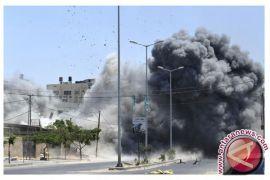 Israel serang lokasi di Suriah Tengah