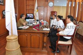 Rektor dan Gubernur Sulteng bahas pengembangan IAIN Palu