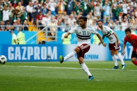 Piala Dunia 2018 - Meksiko menang 2-1 atas Korsel