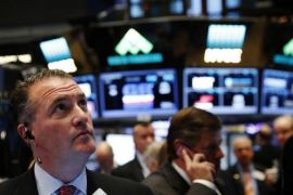 Wall Street turus di tengah krisis Turki dan data ekonomi