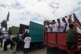 4.000 lebih relawan kini berada di Palu dan sekitarnya