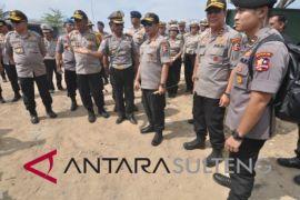 Kapolri tinjau kondisi kantor Ditlantas Sulteng pascagempa