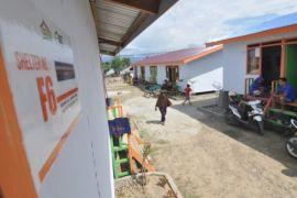 Hunian Sementara bagi korban gempa Palu