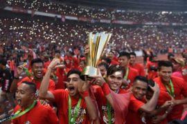 Persija juara Liga 1 Indonesia musim 2018