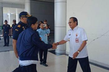 Menteri Keuangan tinjau lokasi bencana di Palu