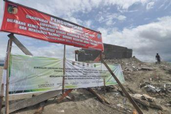 Larangan pemanfaatan lokasi bekas bencana
