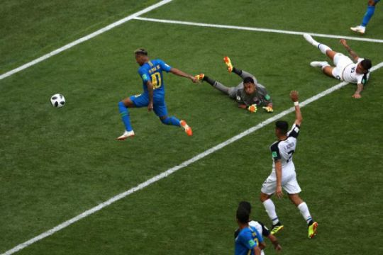 Piala Dunia 2018 - Brazil menang 2-0 atas Kosta Rika