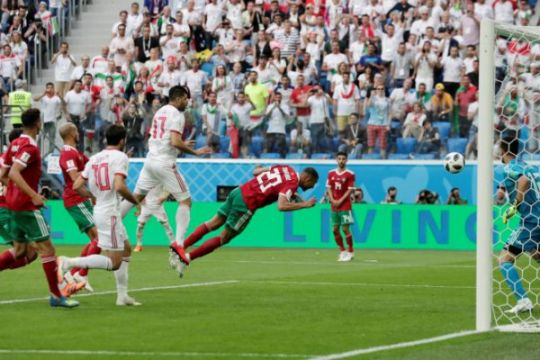 Piala Dunia 2018 - Iran taklukkan Maroko 1-0