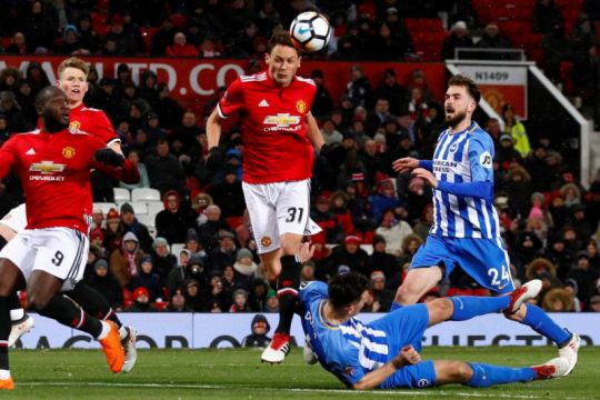 United kala 2-3 atas Brighton