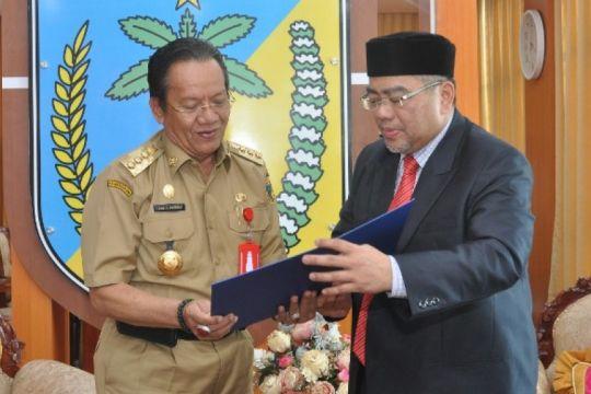 Sultan Brunai undang Gubernur Sulteng berkunjung ke Brunai Darussalam