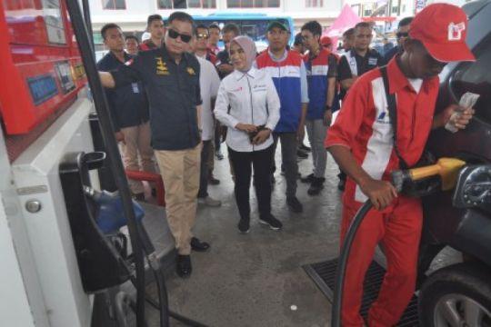 Menteri ESDM cek distribusi BBM Pertamina di Palu