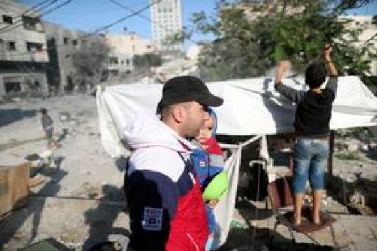UE-PBB desak diakhirinya ketegangan di jalur Gaza