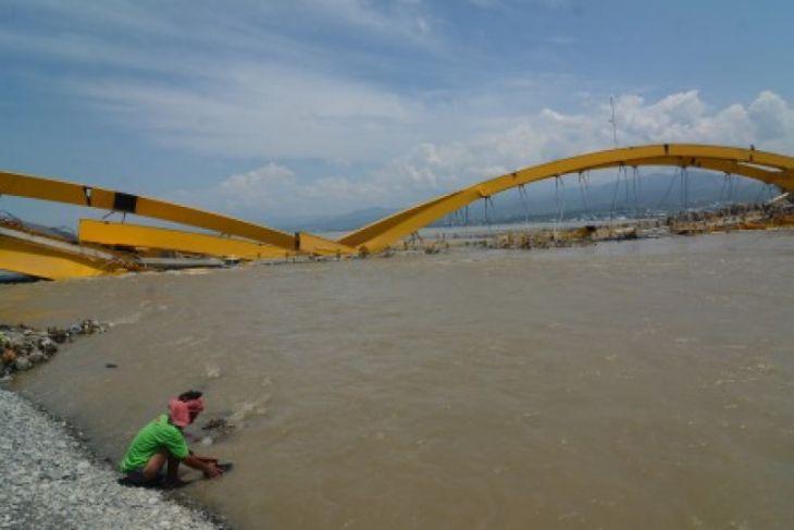 Jembatan kuning Palu akan direkonstruksi