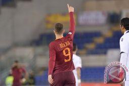 Dzeko antar Roma lewati Cagliari 1-0