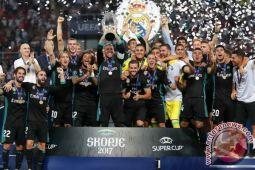 Kalahkan MU 2-1, Real Madrid Juara Piala Super Eropa 2017